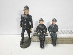 Konvolut 3 alte Hausser Elastolin Massefiguren Feuerwehrmänner zu 7.5cm | eBay
