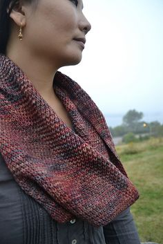 Ravelry: Straw Cowl pattern by Beatrice Perron Dahlen, knit in Malabrigo Arroyo