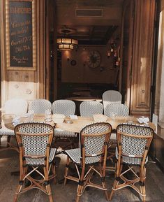 Unknown Paris: A Few Favourite Places, from Boulangeries to Thai Food A Moveable Feast, Sidewalk Cafe, Interior And Exterior, Interior Design, Bistro Chairs, French Bistro, Humble Abode, Oh The Places You'll Go, Bed Frame