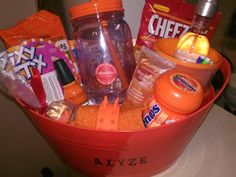 Orange you glad it's your birthday gift for my niece.