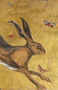 Boob painting rabbit