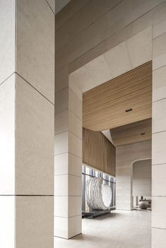 WJID新作 | 1500㎡空间 演绎极致东方禅学之美_新浪家居 Lobby Interior, Decor Interior Design, Interior Decorating, Hotel Canopy, Lobby Reception, Lobby Lounge, Lobby Design, Entry Foyer, Mirror