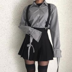 Grunge Outfits – Page 3226219118 – Lady Dress Designs Teen Fashion Outfits, Edgy Outfits, Korean Outfits, Mode Outfits, Cute Casual Outfits, Grunge Outfits, Pretty Outfits, Girl Outfits, Kawaii Fashion