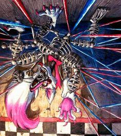 Noise comes closer / Mangle FNaF by Mizuki-T-A.deviantart.com on @DeviantArt