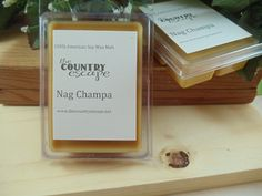 Nag Champa Scented 100% Soy Wax Clamshell Melt - Sensual Warmth -Maximum Scented on Etsy, $2.95