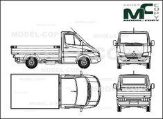 Mercedes-Benz Sprinter van, long, super-high roof, 4325 mm
