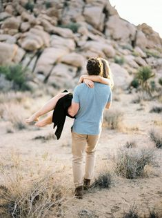 A sunny Joshua Tree Engagement Session in California complete with the coolest couple. Engagement Photo Poses, Engagement Photo Inspiration, Engagement Pictures, Cute Couples Goals, Couple Goals, Lights Camera Action, Light Camera, Vasquez Rocks, Husband And Wife Love