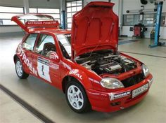 Citroën Saxo VTS Super 1600 Rallye Kit-car