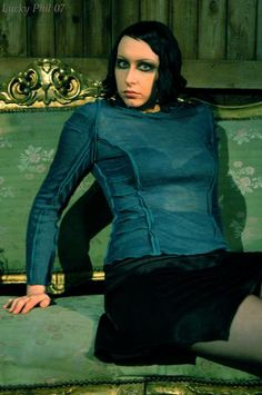 Odonae clothing F/W 2007 Photo Lucky Phil Model Fleur Blanche