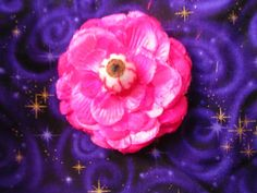 EyeBall Rose Flower Hair Clip Brooch Pin by Th1rte3nsCloset, $10.00