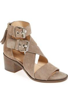 rag & bone 'Madrid' Block Heel Gladiator Sandal (Women) available at #Nordstrom