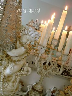 ChiPPy! - SHaBBy!: **ChiPPy!-SHaBBy!** Cherubs... Birdies... Christmas Bling!*!*!
