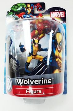 """Jamn Products 4"""" Marvel Figure -Wolverine by Jamn Products"""