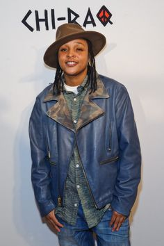 """Felicia Pearson attends the world premiere of """"Chi-Raq"""" at The. Denim, Fedoras, Jackets, 18th, Age, Fashion, Down Jackets, Moda, Jeans"""