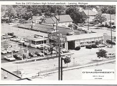 https://flic.kr/p/CgxjgE | Dan O'Shaughnessey's-425 S. Grand Ave.-from 1972 Eastern High School yearbook-Lansing, MI