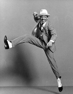 Gregory Hines was an amazing dancer and a versatile actor. How could I not admire genius?