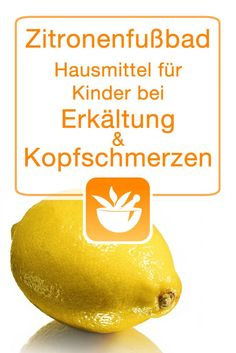 Zitronenfußbad