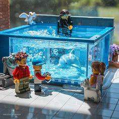 Toys construction toys of the year Lego Moc, Lego Halloween, Amazing Lego Creations, Lego Pictures, Lego Craft, Lego Worlds, Lego Photography, Lego Bionicle, Lego Design