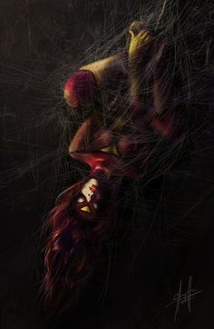#Spider #Woman #Fan #Art. (SPIDER-WOMAN) By: Charychu. (THE * 5 * STÅR * ÅWARD * OF * MAJOR ÅWESOMENESS!!!™)