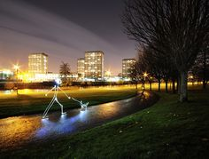 Stickman's Best Friend, Glasgow Green, Night, Long Exposure, LED Torch, Light Painting, | Flickr - Photo Sharing!