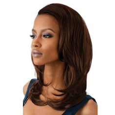 ELLEN Outre Quick Weave Synthetic Hair Half Wig 1 Jet Black >>> Visit the image link more details. (This is an affiliate link) Beauty Hair Extensions, Human Hair Extensions, Frontal Hairstyles, Wig Hairstyles, Wholesale Human Hair, Buy Wholesale, Best Hair Dryer, Hair Products Online, Half Wigs
