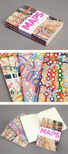 Paula Scher Map journals from Princeton Architectural Press Paula Scher, Print Layout, Layout Design, Print Design, Design Editorial, Buch Design, Design Graphique, Design Consultant, Graphic Design Inspiration