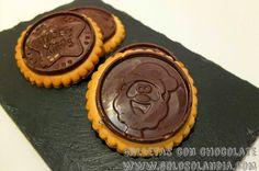 Galletas con chocolate Fácil receta paso a paso de unas pastas espectaculares. ¡Incluye video!  http://www.golosolandia.com/2014/11/galletas-con-chocolate.html