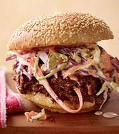 Pulled BBQ Beef Sandwiches