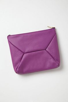 Leather clutch by Jessica Parks, Seattle, WA for Anthropologie