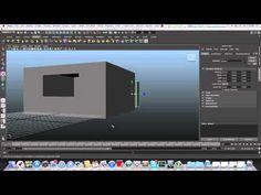 ▶ Maya modeling tutorial - modeling a bedroom part 1
