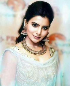 South Indian Actress, Beautiful Indian Actress, Beautiful Actresses, Samantha In Saree, Samantha Ruth, Men's Fashion, Fashion Week, Indian Celebrities, Hollywood Celebrities