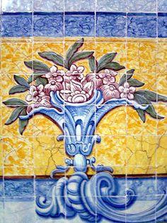 PORTUGAL.Los Jeronimos.Azulejos Lisboa