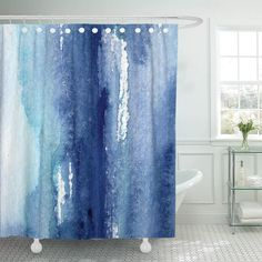 Mystic Tulip Flowers Florals Design Polyester Fabric Shower Curtains Stall Bathroom Curtains with Hooks(36 x 72 Small Size, Trio X-Ray Themed)