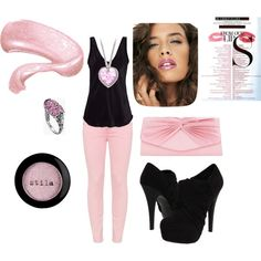 Pretty Pink, created by cassiecclayton on Polyvore