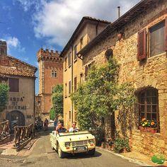 """834 """"Μου αρέσει!"""", 28 σχόλια - Discover Tuscany (@discovertuscany) στο Instagram: """"The charming village of Bolgheri, in the province of #Livorno. #photo credit @discovertuscany"""""""
