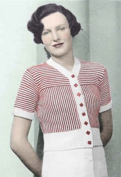 Pattern of the Month: 1930s Archives