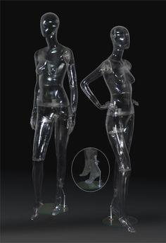 Manequins transparente