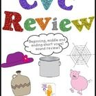 This is just some quick little CVC review worksheets for your kiddos to use! Enjoy! Follow me here for more freebies: Learning With Mrs. Leeby  ...