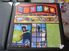 disney scrapbook layouts | disney scrapbook page from my personal album i hardly ever scrapbook ...