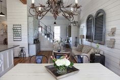 chip and joanna gaines farmhouse | See more images of their farmhouse at Magnolia