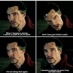 Who cannot be a fan of Benedict Cumberbatch or our very own Marvel superhero Doctor Strange? Check out our awesome Doctor Strange poster collection. Dc Memes, Marvel Memes, Marvel Dc Comics, Marvel Avengers, Benedict Cumberbatch, Sherlock Bbc, Benedict Sherlock, Doctor Strange Poster, Doctor Strange Quotes
