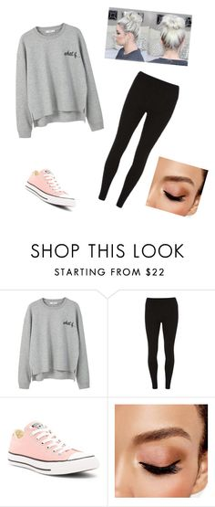 """""""I've been gone for so long"""" by shyoxic on Polyvore featuring MANGO, Dorothy Perkins, Converse and Avon"""
