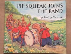 1970s children's picture book Pip Squeak Joins the by EAGERforWORD