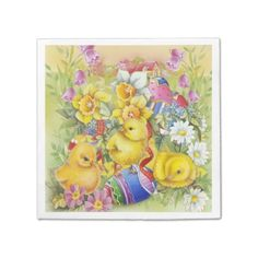 Easter paradise home zazzle store easter gifts pinterest cute vintage easter chicks negle Images