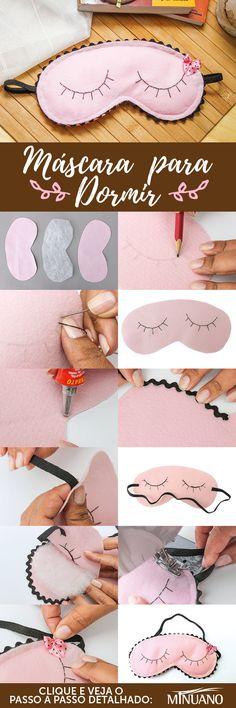 | DIY | Feltro |eye.mask