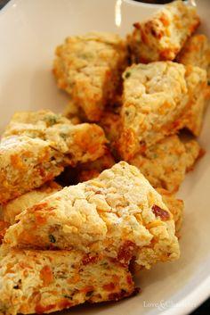 Bacon Cheddar Cheese Scones