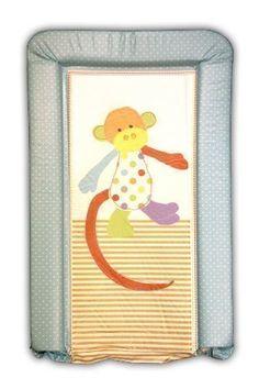Cambiador de bebé acolchado luxury Patch el mono