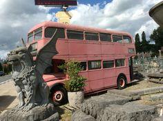Rode antieke Engelse dubbeldekker bus.... Rijdt nog !!! Te koop bij Medussa Heist op den berg