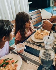 From waffles to green beans, whatever you want, you'll find it at our Sunday Brunch ... the best on the beach. 🥓 Pensacola Beach Hotels, Sunday Brunch, Green Beans, Waffles, Waffle