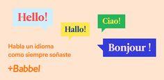 Languages, Bonjour